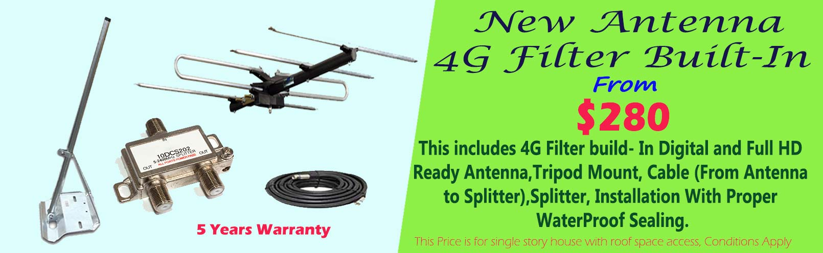 4g antenna installation <a href='https://www.speedytvantennas.com.au/new-tv-antenna'>Read More</a>